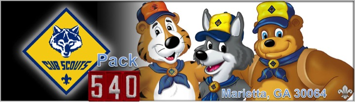 Family Scouting – Cub Scout Pack 540
